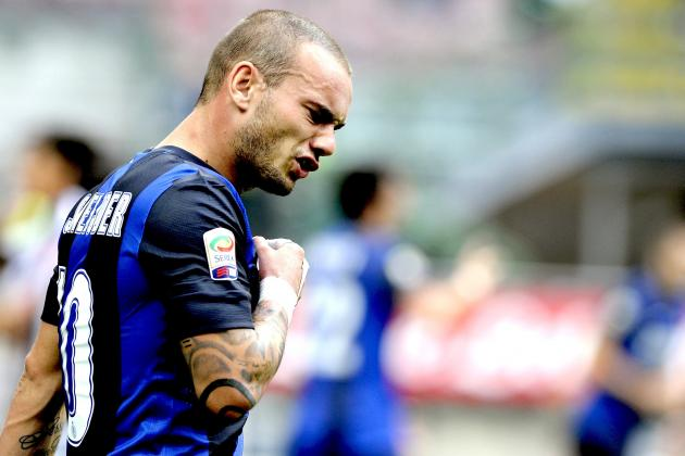Wesley Sneijder Transfer Rumours: Dutchman Set for Move From Inter to Spurs?