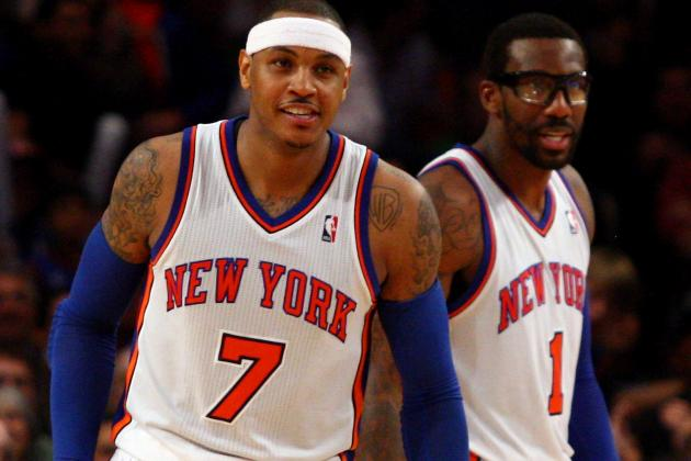 Carmelo Anthony Completely Sincere in Supporting Amar'e Stoudemire's Return?