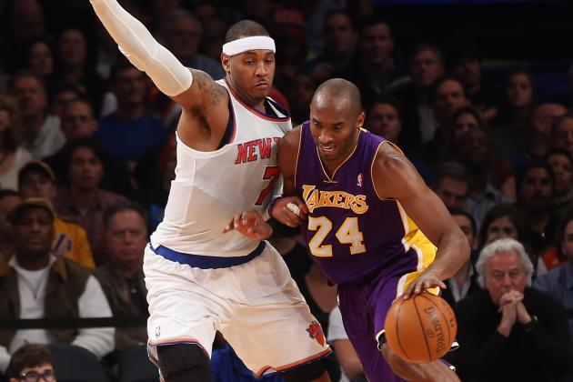 NBA Gamecast: Knicks vs. Lakers