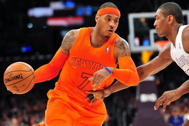 New York Knicks vs. Los Angeles Lakers: Live Score, Results and Game Highlights