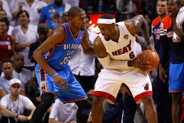NBA Gamecast: Thunder vs. Heat