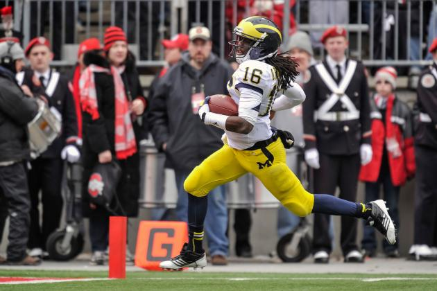 Michigan Football: Why Moving Denard Robinson to Cornerback Is Right Move