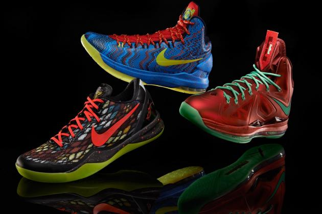 Nike Christmas Day Shoes 2012: Ranking the Best Footwear of the Holiday