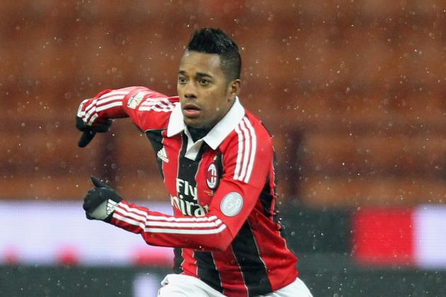 Santos and Flamengo Confirm Robinho Interest