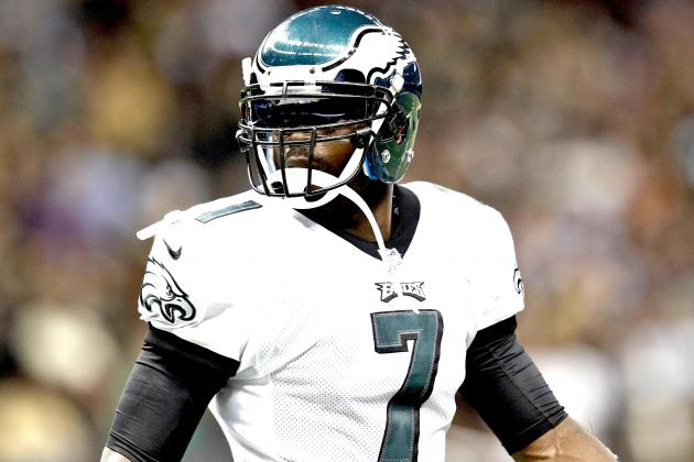 Michael Vick Likely to Start for Eagles After Nick Foles Breaks Hand