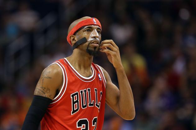 NBA Trade Rumors: Chicago Bulls Will Struggle to Move Rip Hamilton