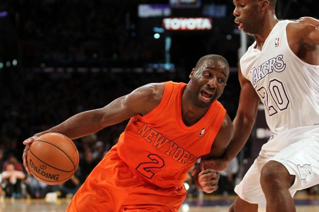 Knicks' Felton Could Miss Suns Game with Pinky Sprain