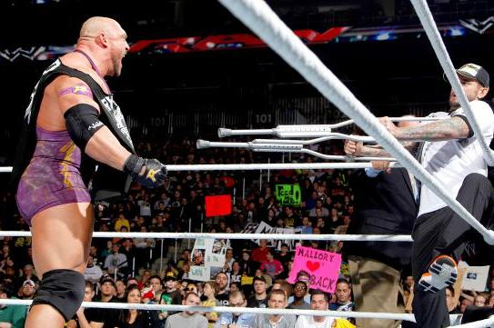 Ryback and the Building of a Monster Wrestling Contender