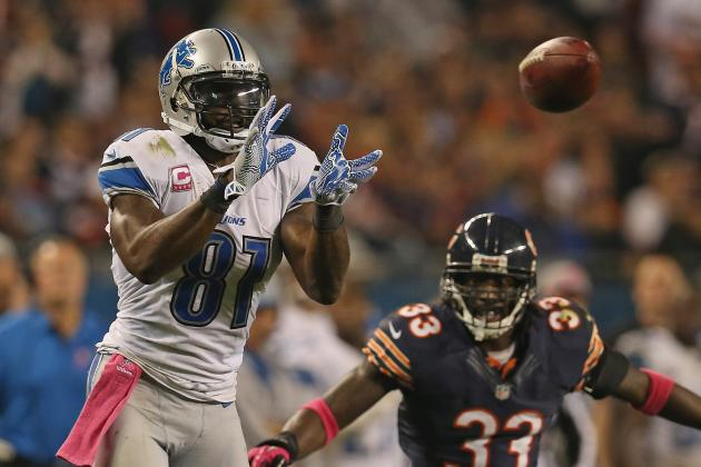 Chicago vs. Detroit:  Bears Key to Victory Is Slowing Down Calvin Johnson