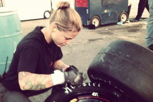 Meet the First Female NASCAR Pit Crew Member Named 'Christmas'
