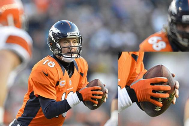 Why Peyton Manning Wore a Glove Against the Browns on Sunday