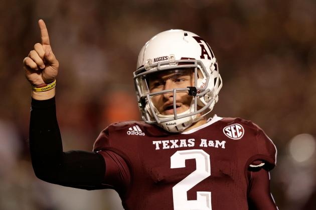 Texas Sports Personality of the Year: A&M's Johnny Manziel