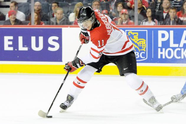 Team Canada Passes First World Junior Test, Beats Germany 9-3