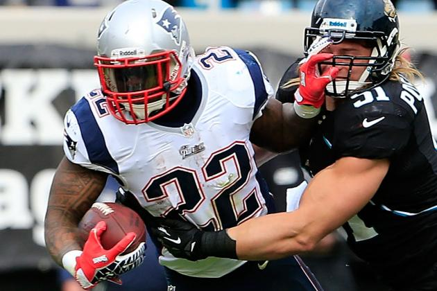 Patriots Tailback Stevan Ridley Has a Firm Grip on His Role