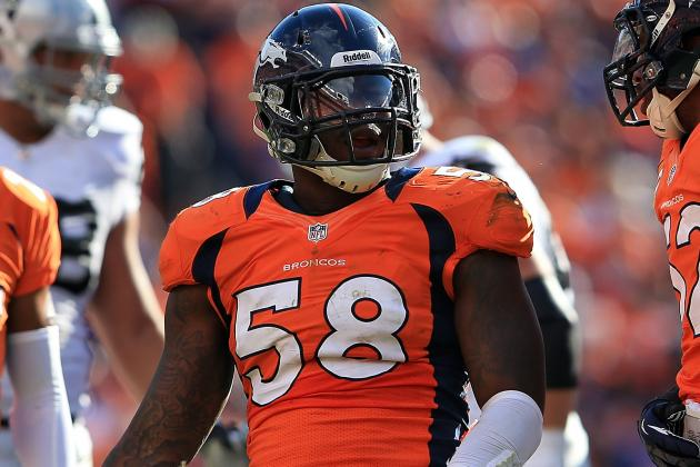 Von Miller Pulling for Aldon Smith, Wants to Play with Him One Day