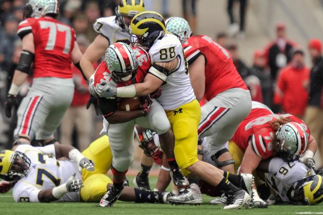 Michigan's Craig Roh sets bar high in drive for perfection