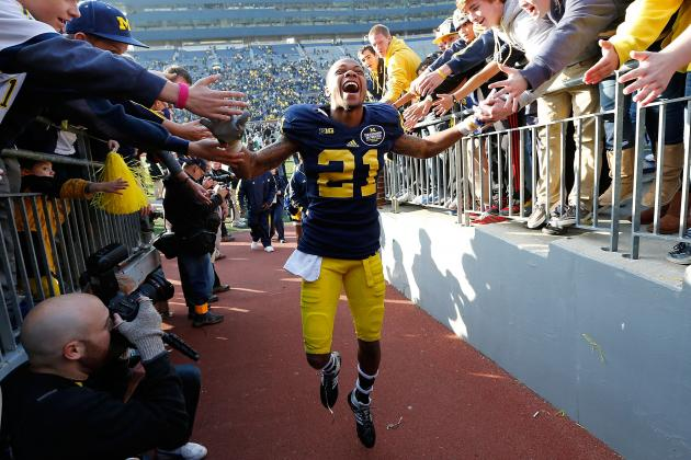 Roy Roundtree Says Good-Bye to Ann Arbor, Hello to NFL Draft Training