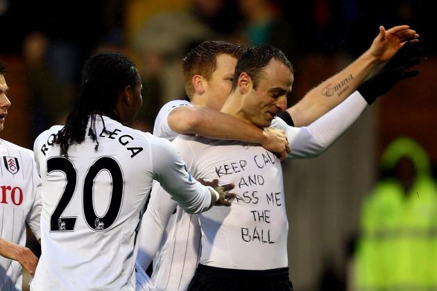 Dimitar Berbatov Booked for Revealing 'Keep Calm and Pass Me the Ball' T-Shirt