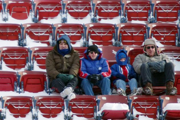 Cold Weather Expected for Cowboys-Redskins Finale, and More NFC East News