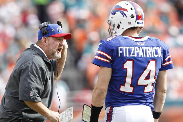Why Chan Gailey Can't Bench Fitzpatrick
