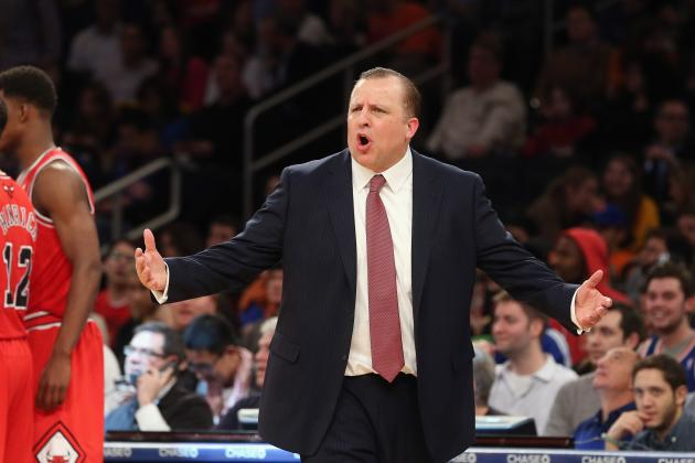 Tom Thibodeau Takes Blame for Bulls' Poor Play