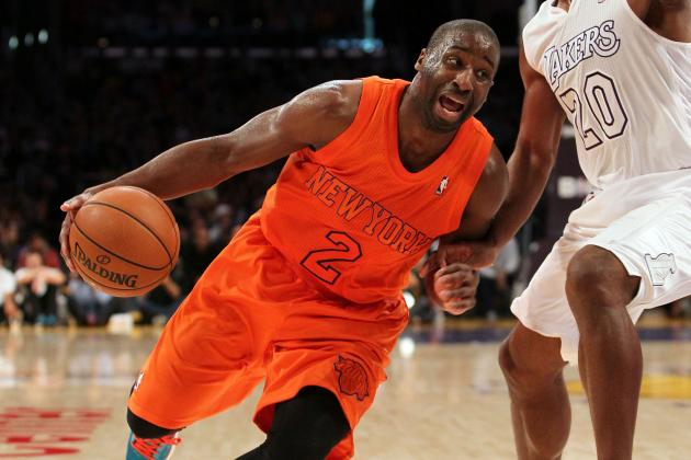 Pinkie Sprain May Shelve Knicks' Felton