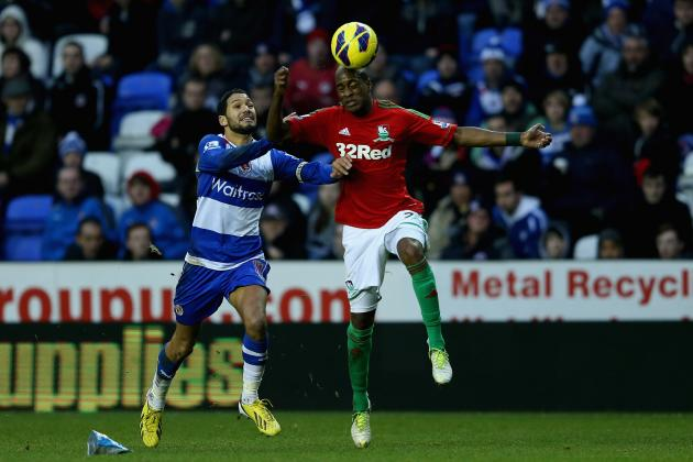 EPL: Reading, Swansea Play to Scoreless Draw on Boxing Day