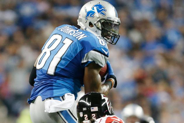 Lions Practice Report: Calvin Johnson Among 4 Starters Sitting out