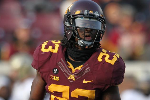 Gophers' Carter Grew Up On, off the Field
