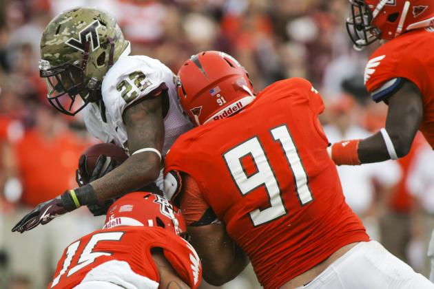 Military Bowl 2012: Top NFL Prospects in Action in Washington, D.C.