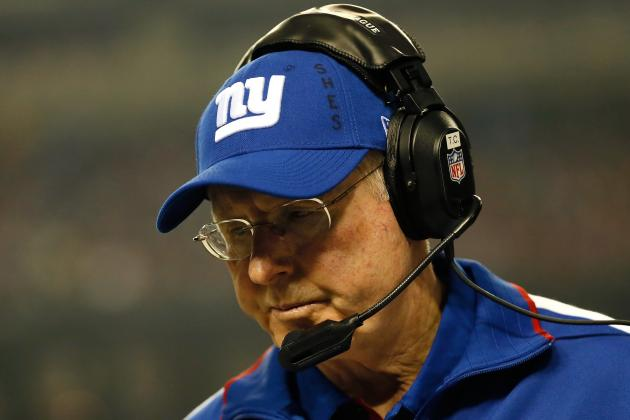 Tom Coughlin Says Giants Should Be Playing for Pride
