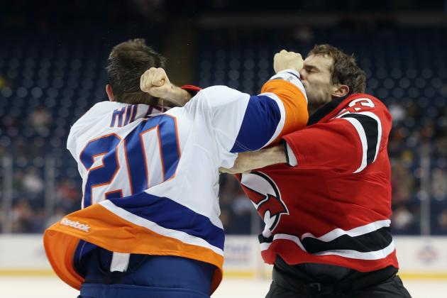 Puck Daddy's Top 11 Hockey Fights for 2012