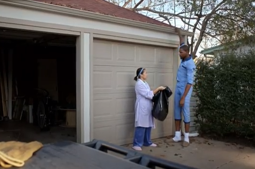 Kevin Durant Sprint Ad: Cleans Gutter (Video)