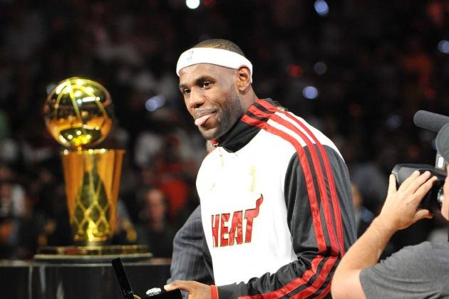Why 2012 Will Forever Be Remembered as the Year of LeBron James