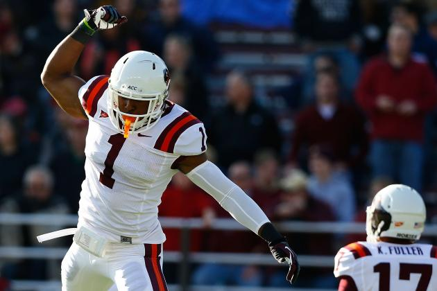 Virginia Tech's Antone Exum Uses His Russell Athletic Bowl Gift on 3 Random Kids
