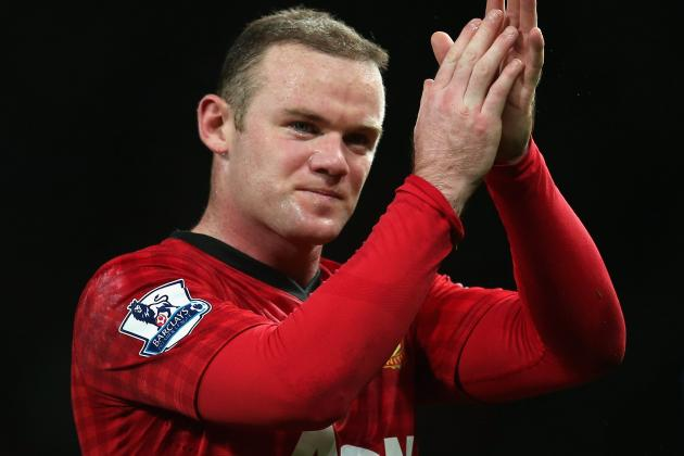 Manchester Uniteds Wayne Rooney Ruled out for Up to Three Weeks