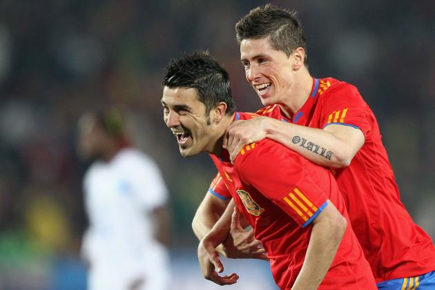 David Villa to Join Fernando Torres and Juan Mata at Chelsea?