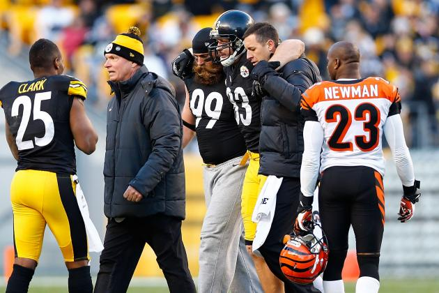 How Heath Miller's Knee Injury Affects the Pittsburgh Steelers' 2013 Plans
