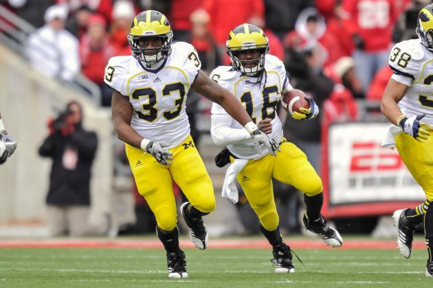 Denard Robinson: Former NFL GM Crazy to Suggest Michigan QB Should Play Corner