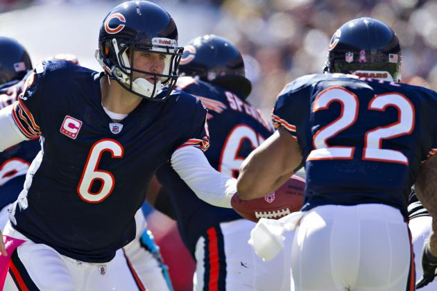 Cutler: Forte 'Optimistic He'll Play' Bears vs. Lions