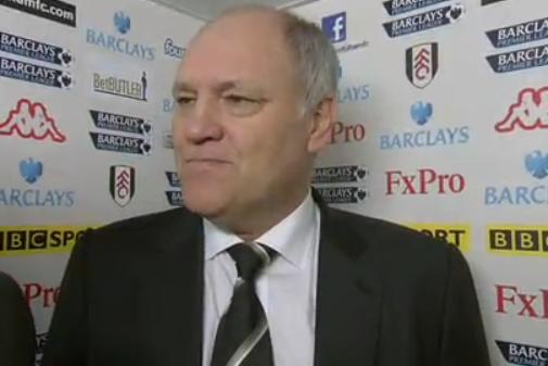 Fulham's Jol Blames 'stupid' Handball