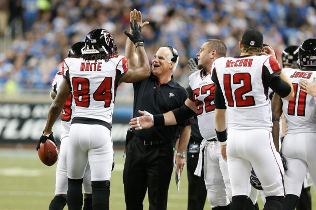 Falcons Wait for Playoff Picture to Clear