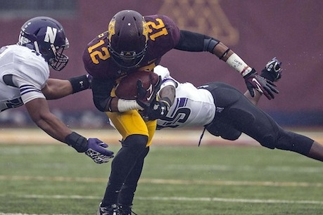 Minnesota WR Andre McDonald (Team Rules) Suspended for Bowl