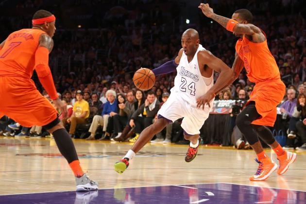 Knicks-Lakers Breaks TV Record