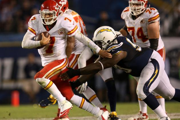 AFC West Ineptitude Great for San Diego Chargers NFL Draft Prospects