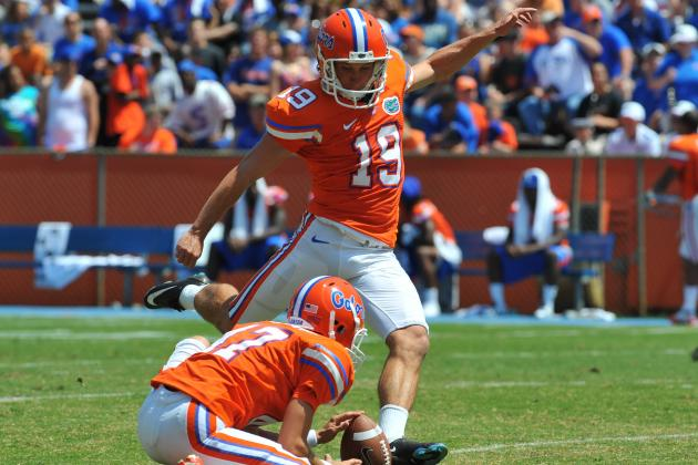 Gators Kicker Caleb Sturgis Leaves a Big Right Shoe to Fill