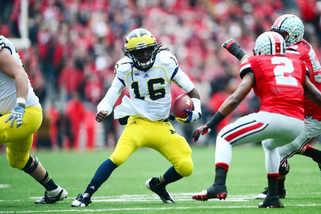 Michigan Football: Where Does Wolverines Star Denard Robinson Fit in the NFL?