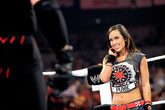 WWE's Top 10 of 2012, No. 6: WWE Diva AJ Lee Is a Crazy, Dirty Little Girl