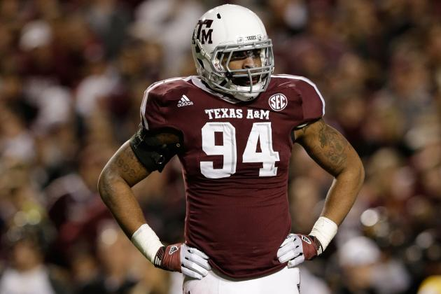 Report: Texas A&M Junior Damontre Moore 'is Likely Gone' for the NFL Draft