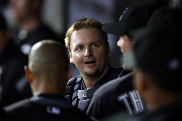 Pierzynski Wanted to End Career with Sox